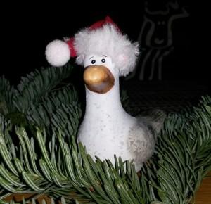 Unsere Weihnachtsmöwe bei Lucifer in Büsum